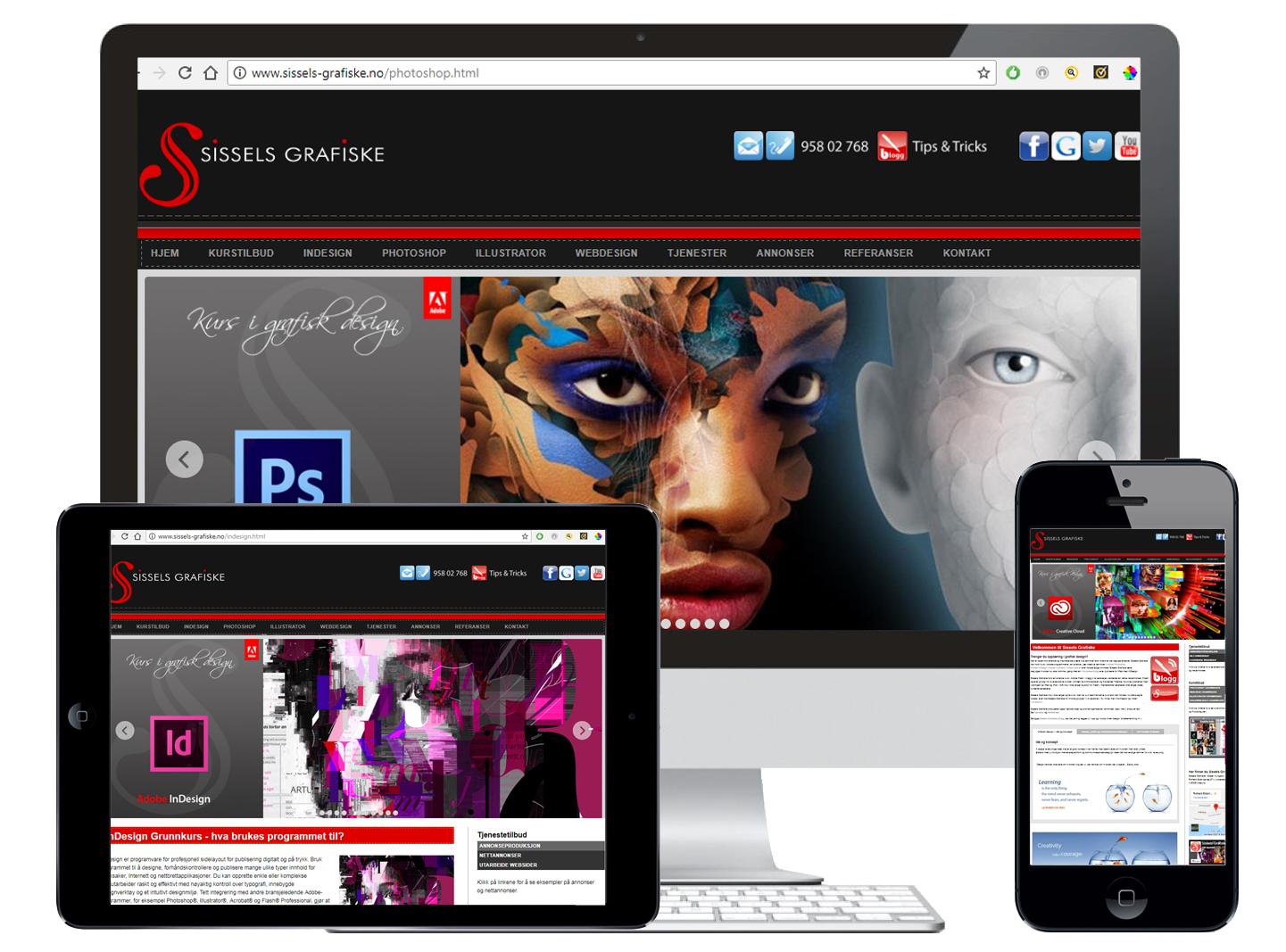 Sissels Grafiske WordPress Webdesign