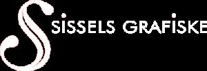 Sissels Grafiske Logo Negativ